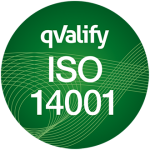 ISO 14001 kvalitetsstämpel